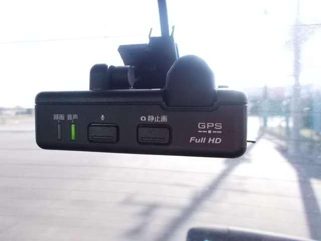 なんと!後方にも★ドライブレコーダー付き★なのでお車の安全運転を記録してくれます!!