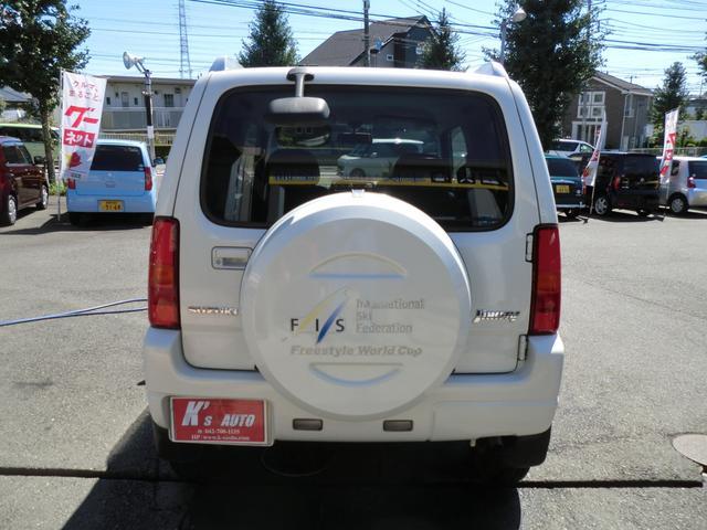 スズキ ジムニー FISフリースタイルワールドカップリミテッド 4WDターボ