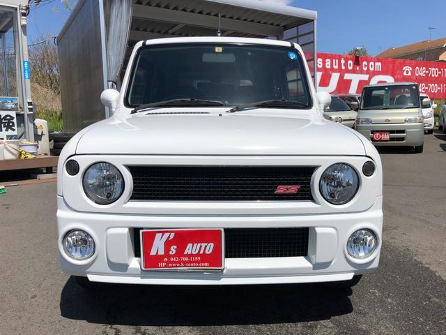 SSターボ 4WD 5速マニュアル シートヒータ キーレス付(4枚目)