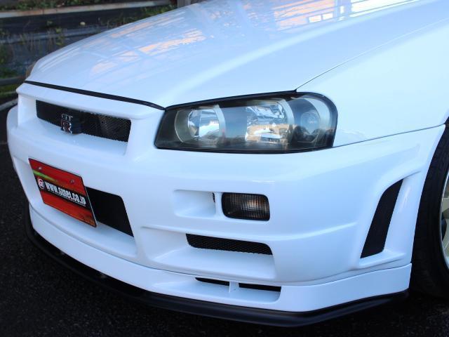 GT-R Vスペック 19AW ニスモエアロ ブリッツ車高調(8枚目)
