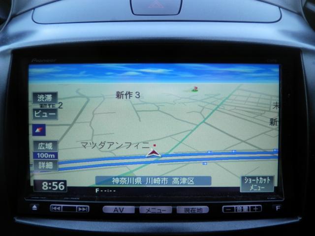 マツダ デミオ 1.3 13C-V ナビ ETC アクリルバイザー