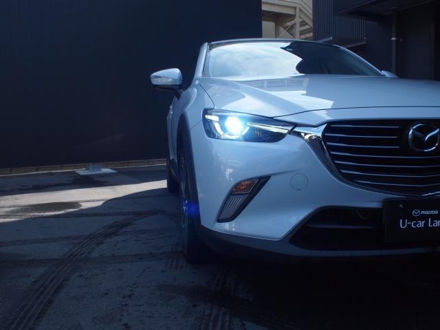 LEDライトは夜道を明るく照らし夜間走行の精神的負担を和らげてくれます。これで夜道も安心して運転できます。