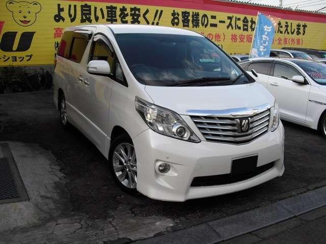 トヨタ アルファード 350S 4WD ナビ TV Bカメラ Pスラ ソナ