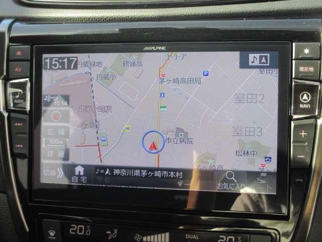20Xi 全周囲モニター 衝突被害軽減システム メモリナビ 4WD アルミホイール バックモニター インテリキー アイドリングストップ ナビTV キーレス 盗難防止システム 試乗車 レーンアシスト ABS(8枚目)
