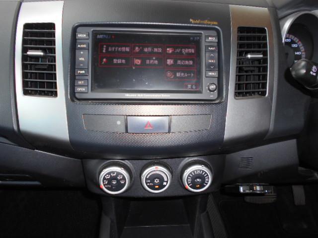 G ナビ バックカメラ 4WD ETC HID 純正アルミ(12枚目)