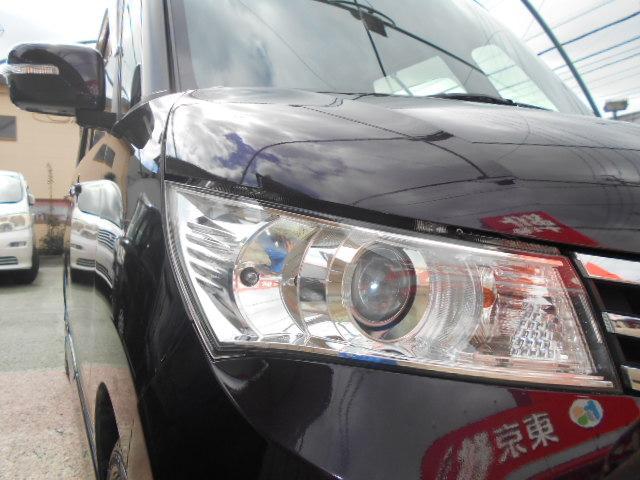 ハイウェイスター 1年走行無制限保証 左電動スライドドア プッシュスタート スマートキー ナビ Bカメラ HIDライト 純正アルミ(8枚目)