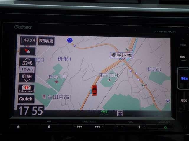 F 純正メモリーナビリアカメラ ETC付(3枚目)