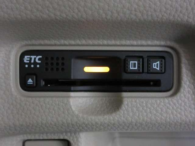 ETC車載器を装備!高速道路の料金所もラクラク通過出来ます♪