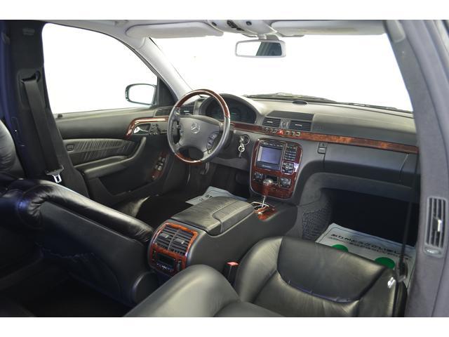 メルセデス・ベンツ M・ベンツ S500L 本物ブラバスエアロ 19インチアルミ マフラー