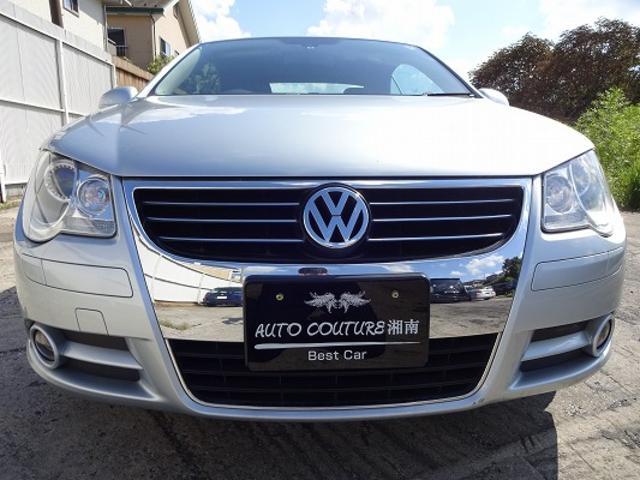 フォルクスワーゲン VW イオス V6 電動オープン サンルーフ 黒革シート SDナビ TV