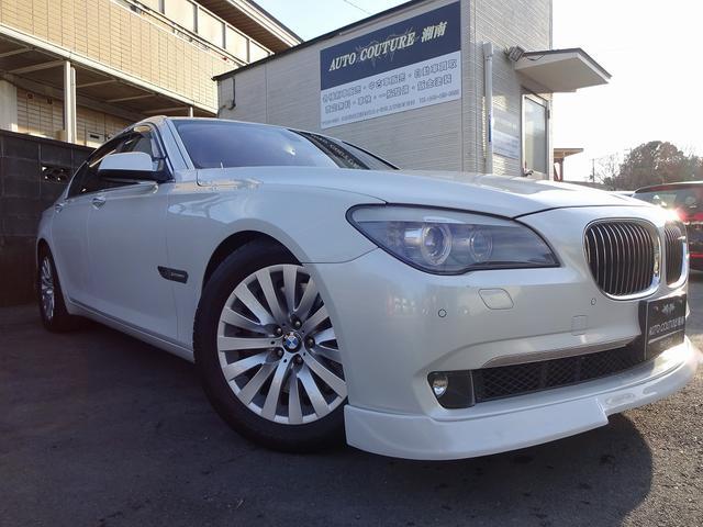 BMW,F型750I入庫致しました!多走行車両ですがとてもきれいな車両です!