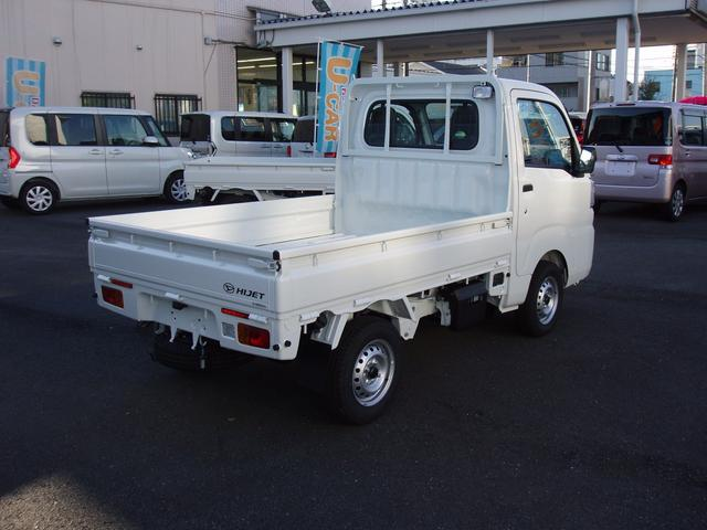 ダイハツ ハイゼットトラック スタンダード 農用スペシャル 届出済未使用車 4WD MT