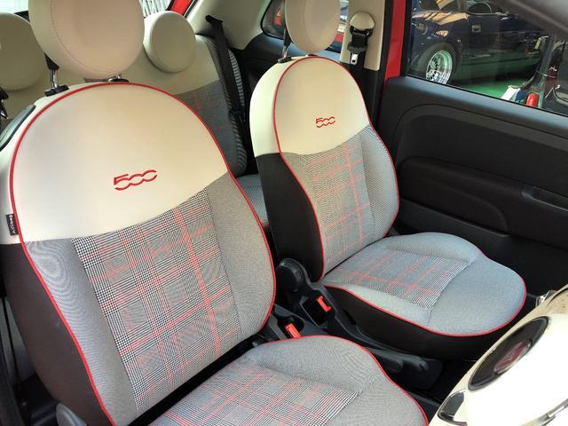 限定車SCACCO(スカッコ)専用アイボリー/コーラルレッドのチェックシートです。