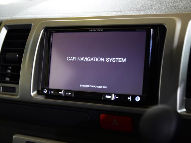トヨタ ハイエースバン S-GL ダークプライム AW・ナビ・モニタ・ベッド