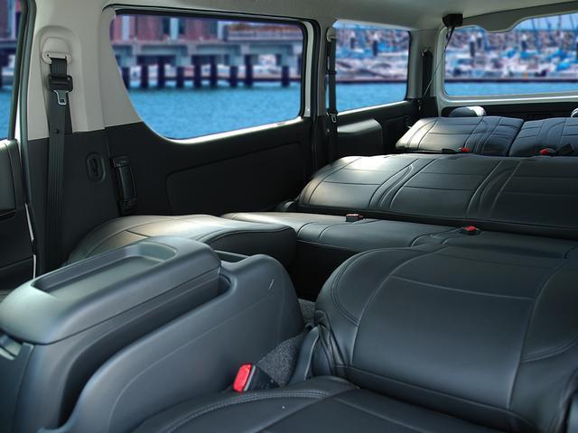 トヨタ ハイエースバン スーパーGL ダークプライム 8人3列シート乗用 アルミ