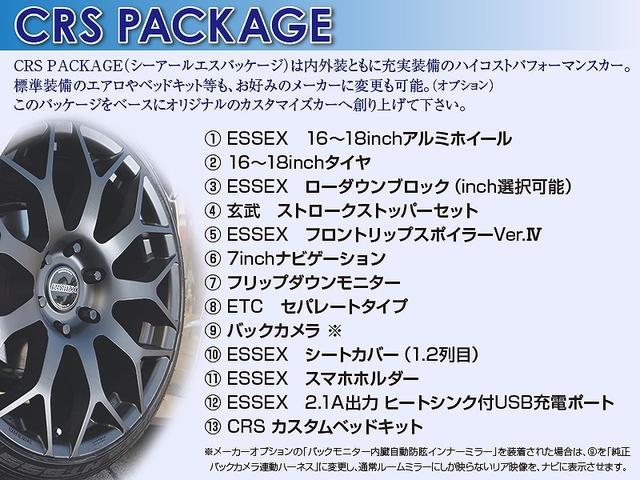 S-GL 6型DPII アルミ ナビ カメラ ベッド エアロ(5枚目)