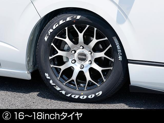 ロングスーパーGL 2.0 S-GL ロングボディ 特設カラー レッド 2ピースホイール オーバーフェンダー(5枚目)