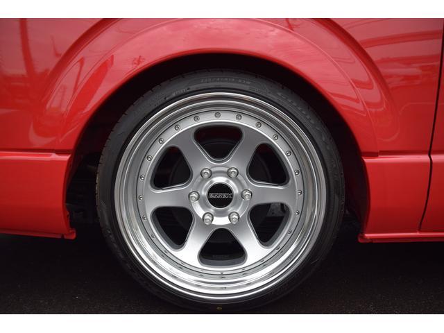 ロングスーパーGL 2.0 S-GL ロングボディ 特設カラー レッド 2ピースホイール オーバーフェンダー(35枚目)
