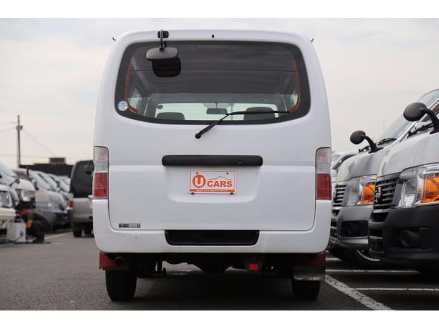 日産 キャラバン ロングDX 軽油ターボ 切替式4WD 5ドア低床 NOx適合