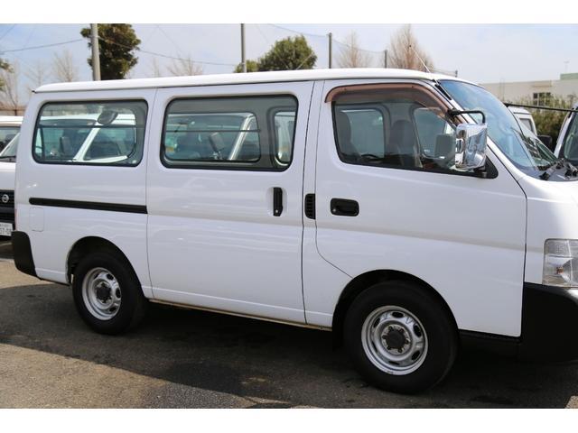 日産 キャラバン ロングDX 切替式4WD 軽油ターボ 5ドア ユーザー買取車