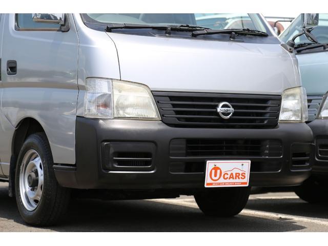 日産 キャラバン ロングDX 軽油ターボ NOx適合 5ドア平床 キーレス