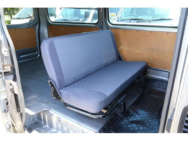 ロングDX ガソリン 5AT 6人乗 5ドア低床 ナビETC(14枚目)