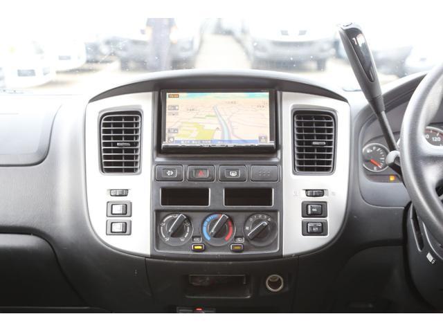 ロングスーパーGX軽油ターボ 4WD 両側ドア ナビ ETC(11枚目)