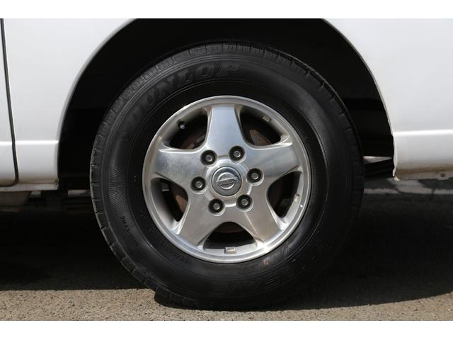 ロングDX軽油ターボ 切替式4WD 両側ドア 純正AW ナビ(20枚目)