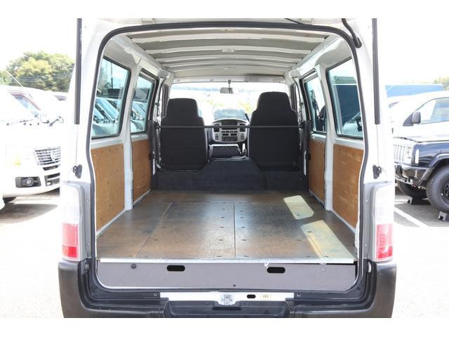 ロングDX ガソリン 5速AT 両側スライドドア 平床 プライバシーガラス サイドウィンドウ・バックドア(18枚目)