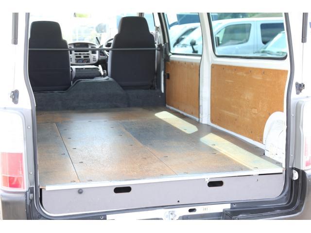ロングDX ガソリン 5速AT 両側スライドドア 平床 プライバシーガラス サイドウィンドウ・バックドア(78枚目)