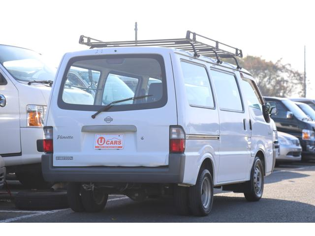 DX ガソリン/両側スライドドア/5速マニュアル/ルーフキャリア(56枚目)