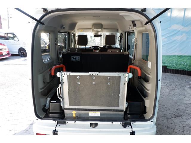 ウィズ車いす移動車 分割リアシート4WD 28年式/DA17W型/MADアルミホイール/MTタイヤ新品/スズキセーフティー衝突軽減ブレーキシステム装備(20枚目)