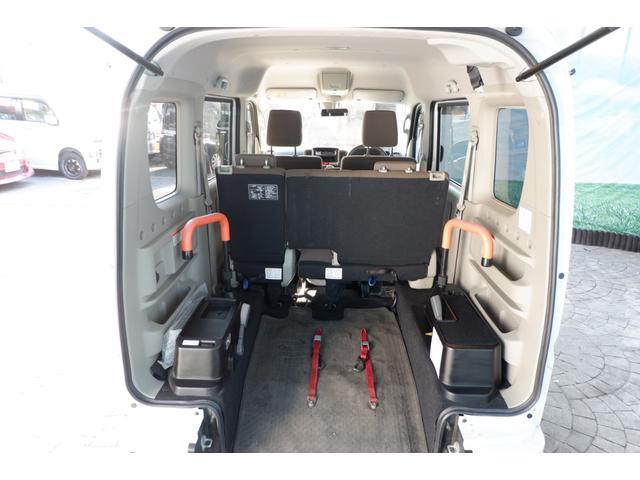 ウィズ車いす移動車 分割リアシート4WD 28年式/DA17W型/MADアルミホイール/MTタイヤ新品/スズキセーフティー衝突軽減ブレーキシステム装備(21枚目)