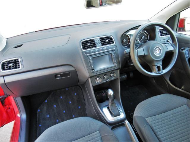 フォルクスワーゲン VW ポロ TSIコンフォートライン 禁煙車 ナビ フルセグ地デジTV