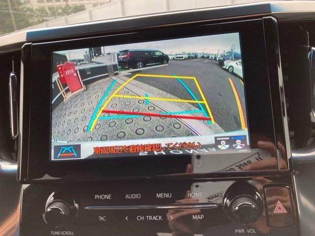 2.5S タイプゴールド 登録済未使用車 ディスプレイオーディオナビ バックカメラ 後席モニター ETC2.0 衝突被害軽減ブレーキ レーダークルーズコントロール パワーバックドア LEDヘッドランプ 568(6枚目)