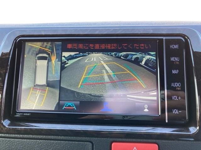 MRTタイプ2ダークフ 登録済未使用車 ベッドキット 純正メモリーナビ バックカメラ CD/DVD再生 Bluetooth再生 後席モニター ETC LEDヘッドランプ 衝突被害軽減ブレーキ スマートキー(6枚目)