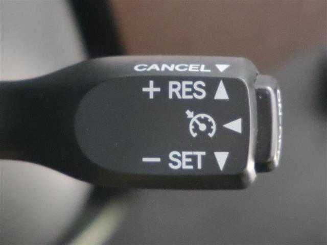 クルーズコントロール設定した速度を保って走行できます!
