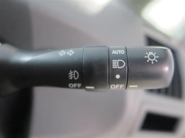 オートライト付 夕暮れ時やトンネルに入った時に自動点灯の設定ができます!