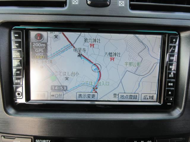 トヨタ マークXジオ 240G HDDナビ 地デジ パワーシート スマートキー