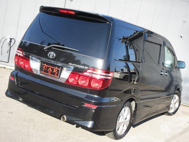 トヨタ アルファードV AS プラチナセレクション 純正HDDナビ 両側パワスラ