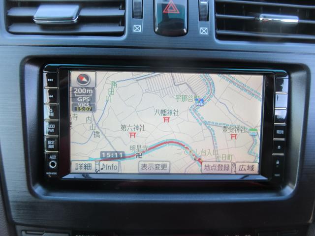 トヨタ マークXジオ 240G 純正HDDナビ フルセグ Bカメラ ETC HID