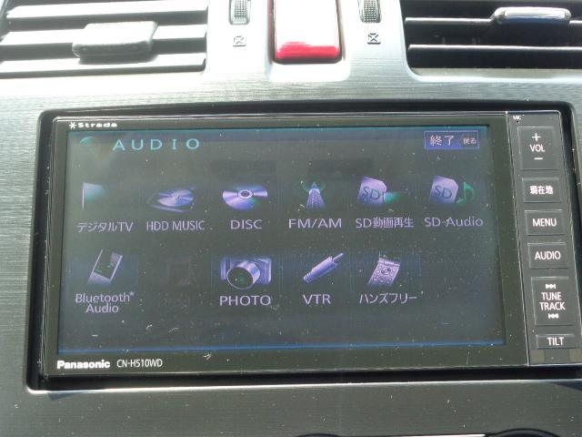 スバル インプレッサXV 2.0i-L アイサイト ルーフレール ナビ バックカメラ
