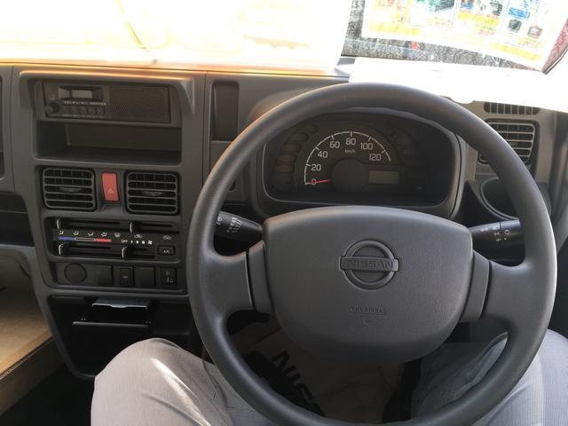 日産 NT100クリッパートラック 4WD 三方開 パワーステアリング 運転席エアバック