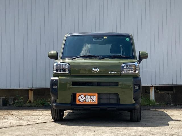 G スマートアシストIII スマートキー LEDヘッドライト LEDフォグライト 運転席助手席シートヒーター 届出済未使用車(5枚目)