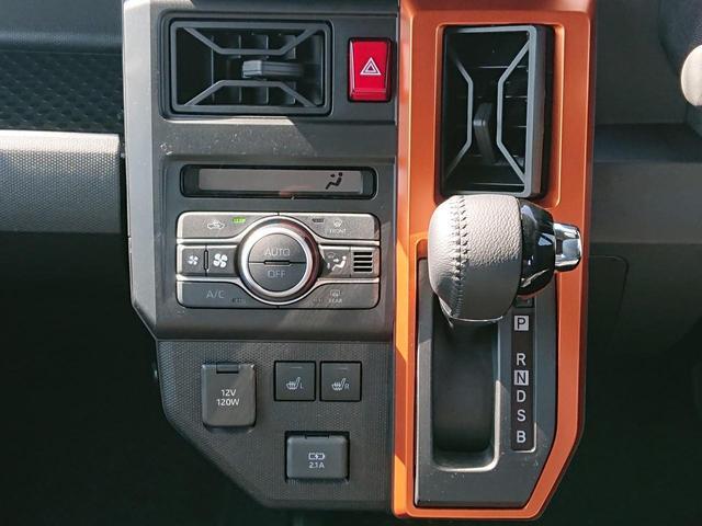 G スマートアシストIII スマートキー LEDヘッドライト LEDフォグライト 運転席助手席シートヒーター 届出済未使用車(23枚目)