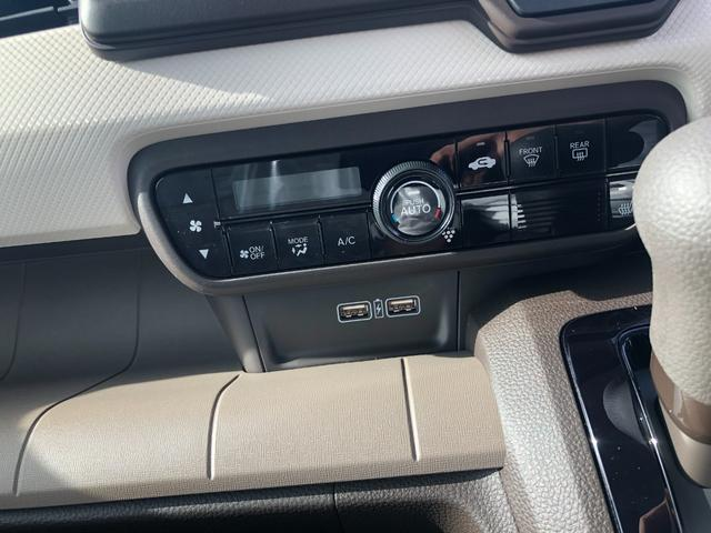 Gホンダセンシング 衝突被害軽減ブレーキ装着車・キーレスプッシュスタート・オートエアコン・電動パーキング・充電用USB端子・オーディオレス仕様(37枚目)