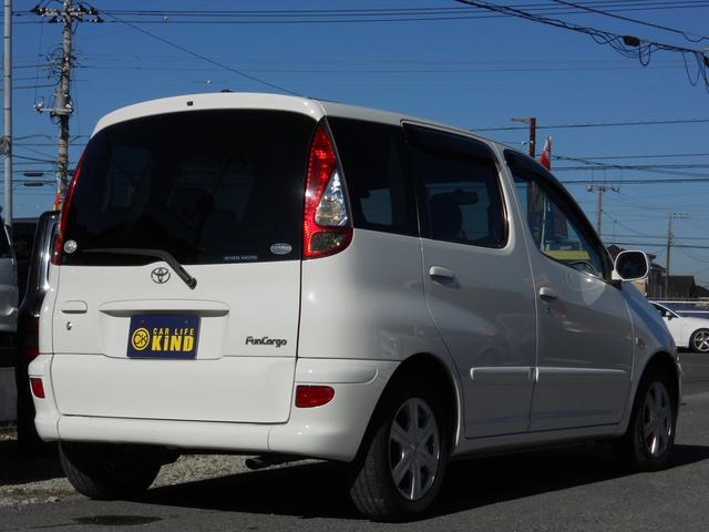 トヨタ ファンカーゴ Xリヤリビングバージョン 社外14AW キーレス