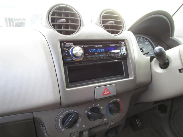 スズキ アルト GII キーレス ケンウッドCDオーディオ AUX USB