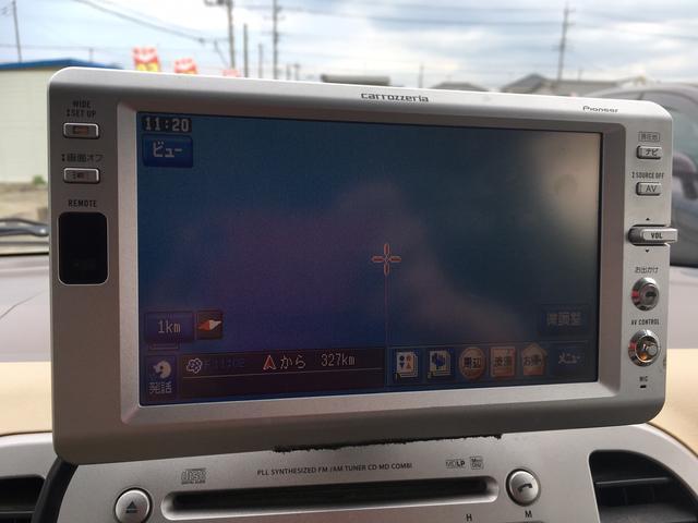 日産 モコ E DVDナビ CD スマートキー 社外13インチAW