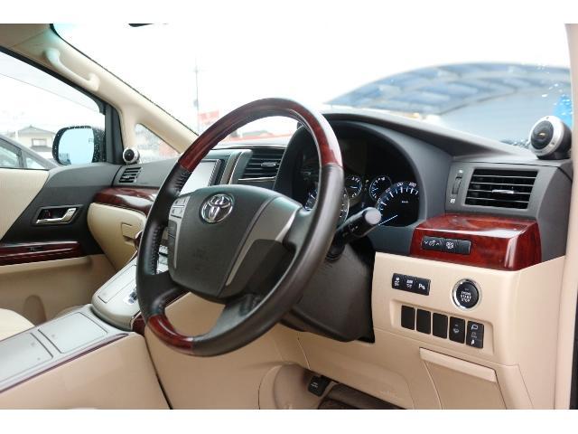 トヨタ ヴェルファイア 2.4V7型HDDナビ10型後席モニタBカメラ両側電動ドア